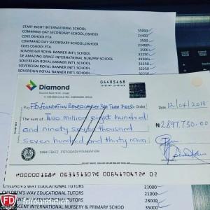 FDF Cheque